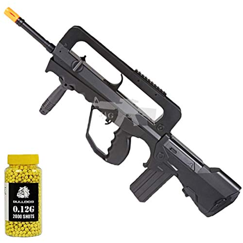 Double Eagle A&N Tactical M46A1 Powerful Spring Airsoft Gun Assault Rifle FAMAS Styled and 2000 BBS