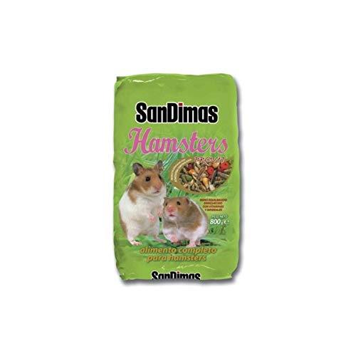 San Dimas Alimento completo equilibrado hamsters 800g con vitaminas y minerales