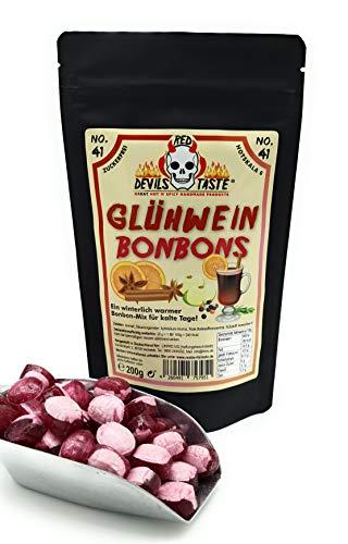 Glühwein Bonbons - zuckerfrei - 200g unsere leckeren Glühschweine