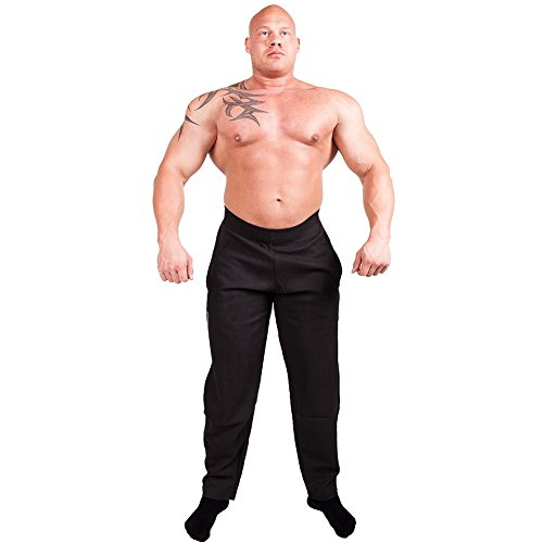 Bodybuilding broek C.P. Sports heren trainingsbroek in zwart S10 body pant fitness sweatpants fitnessbroek in zwart, joggingbroek