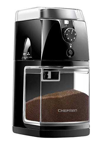Chefman Coffee Grinder Electric Burr Mill
