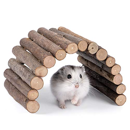 Niteangel Wooden Ladder Bridge, Hamster Mouse Rat...