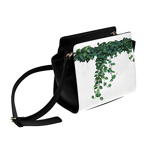 Rtosd Kreative Kletterpflanze Grüne Umhängetasche Umhängetaschen Reisetaschen Seesack Umhängetaschen Gepäck Organizer Für Dame Mädchen Frauen Arbeit Einkaufen Im Freien