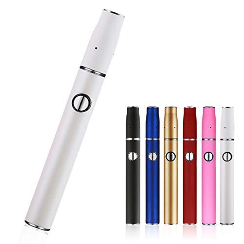 HITASTE Quick 2.0 加熱式たばこ 互換機 本体 スターターキット 加熱式電子タバコ 電子タバコ 8本連続 吸引 650mAh 温度調整 時間調整 自動クリーニング (ホワイト)
