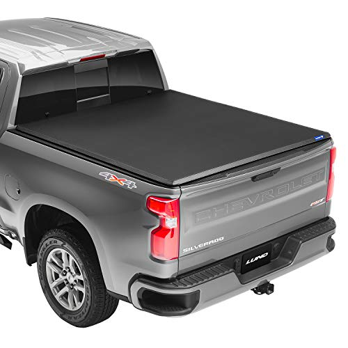 """Lund Hard Tri-Fold, Hard Folding Truck Bed Tonneau Cover 
