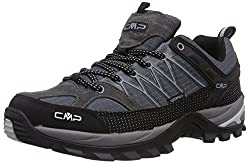 CMP - F.lli Campagnolo Men's Rigel Low Shoe Wp Trekking & Hiking Loafers, Gray (Gray U862), 47 EU