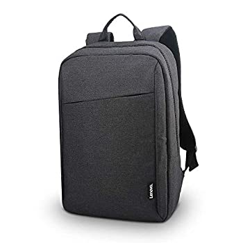 Lenovo Laptop Backpack B210 15.6-Inch Laptop and Tablet Durable Water-Repellent Lightweight Clean Design Sleek for Travel Business Casual or College for Men or Women GX40Q17225 Black Casual Backpack- Black