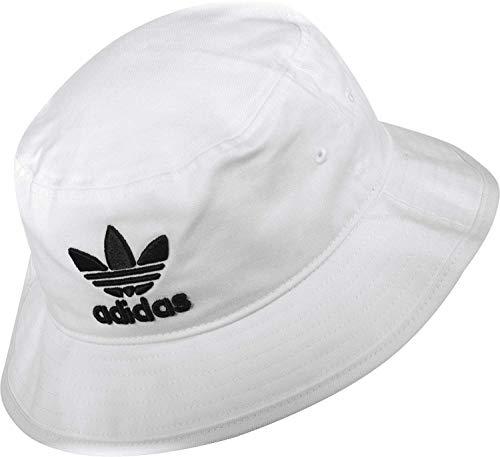 Adidas Bucket Hat Fischerhut Sonnenhut (OSF Men, White)