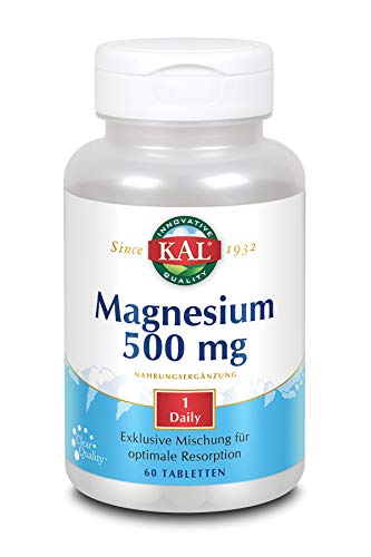 KAL Magnesium Once Daily 500mg, 100 g