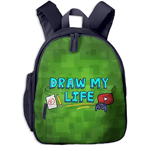 Shichangwei Its Funneh School Backpack Boy and Girl Backpack