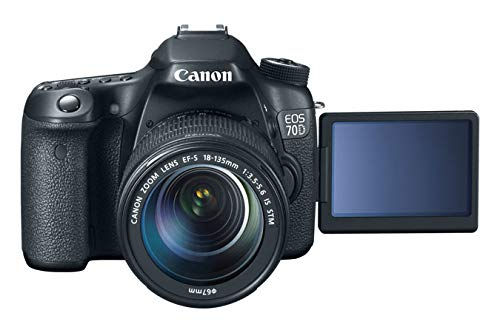 Canon EOS 70D Fotocamera Reflex Digitale, 20.2
