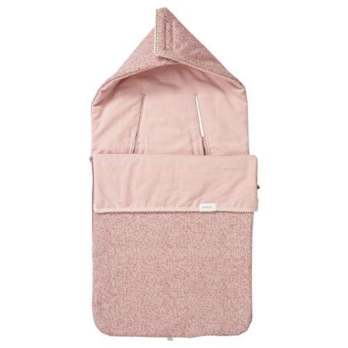 Koeka Baby Fußsack Flannel 3/5-punktegurtegurt Vigo Old Pink/shadow Pink One
