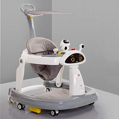 Baby Activity Walker,Baby Bouncers and Jumpers,Baby Walker for Boys Girls,Baby Walker for Carpet Floor,Toddler Swing/Baby Safety/Toddler Car,White
