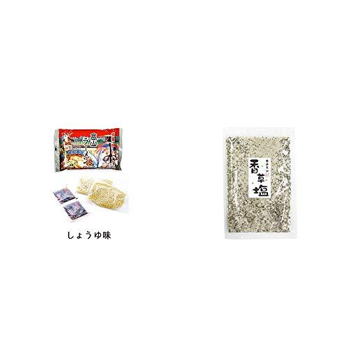 [2点セット] 飛騨高山ラーメン[生麺・スープ付 (しょうゆ味)]・香草塩 [袋タイプ](100g)