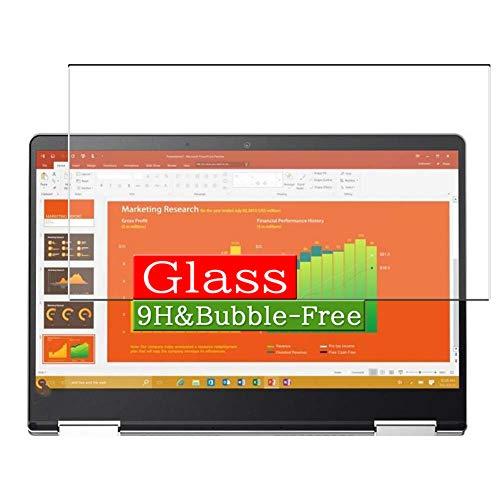 VacFun Vidrio Templado Protector de Pantalla para Lenovo Yoga 710 14' Visible Area, 9H Cristal Screen Protector Película Protectora(Cobertura no Completa)