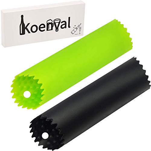 PRO Garlic Peeler Koenval Large Food Grade Silicone Tube Roller 2 Pieces Useful Kitchen Gadget Garlic Tools Easy To Roll Odor-free