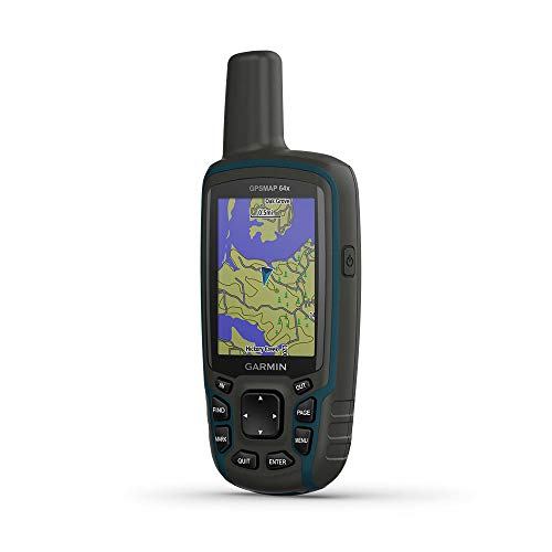 Garmin GPSMAP 64x rastreador gps Personal Negro, Verde 8 GB - Rastreadores gps (TFT, 6,6 cm (2.6'), 36 x 55 mm, 160 x 240 Pixeles, 65536 colores, 8 GB)