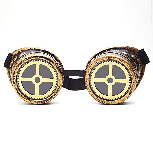 Materials:ABS Frames + PC Lens. Ideal for steampunk weddings, parties, cosplay or just fancy dress, come in various colours, with internal clear and tinted glass lens Having manufactured and supplied thousands, we can ensure the highest quality. Our ...