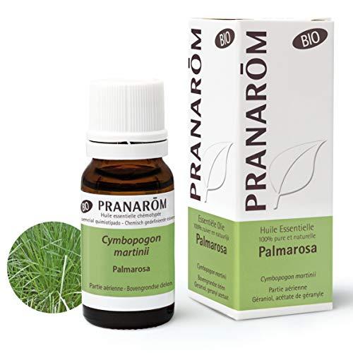 Pranarôm - Aceite esencial de Palmarosa Bio - Partes Aereas - 10 ml