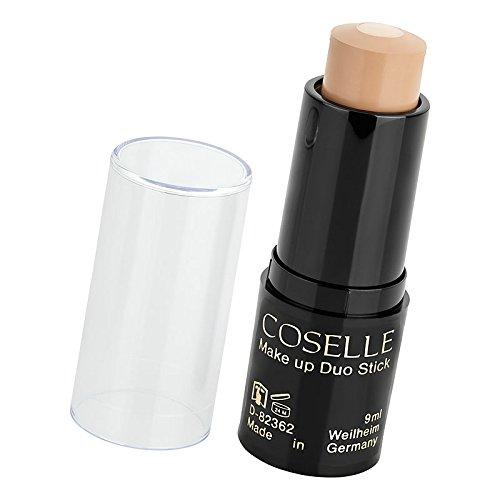 Coselle Make-up Duo Stick in praktischer Drehstiftform mit pflegendem Neem-Extrakt, höchste Qualität, ohne Tierversuche, Made in Germany!