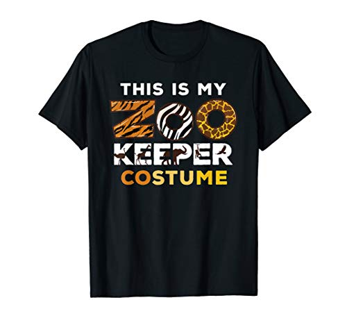 My Zookeeper Costume African Savanna Animal Print Gift T-Shirt