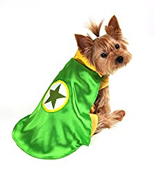 Green Superhero Halloween Costumes For Dogs