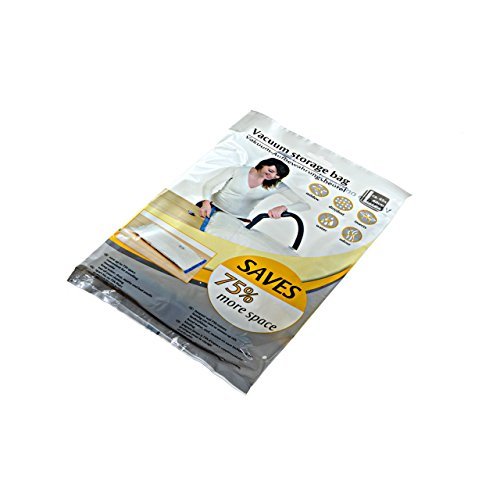 ASIS nettrade Lot de 8 sacs sous vide pour vêtements - Dimensions : 60 x 45 cm - 75 % de plis en moins - Idéal pour le stockage, le transport ou les voyages