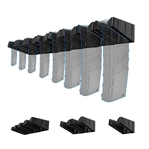 LIRISY 8PCS PMAG Wall Mount, Detachable Magazine Holder & Mag Holder, ABS Standard Storage Rack