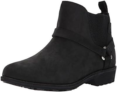 Teva Women's W DE LA Vina Dos Chelsea Boot, Black, 8 M US