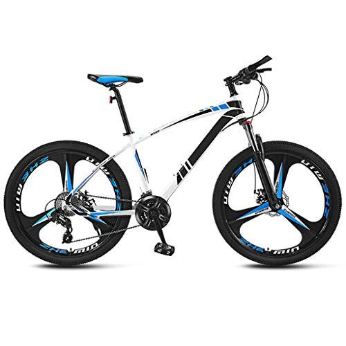 JXJ Mountainbike, 26 Zoll Carbon Steel Mountainbike, 21/24/27/30 Gang Rennrad Fahrrad Vollfederung MTB Erwachsenenfahrrad, Studentenfahrrad, Cityräder