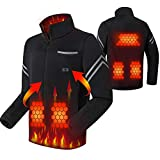 USB Electric Heated Jacket, 3+2 Heating Zone Perfectly Cover The Upper Body