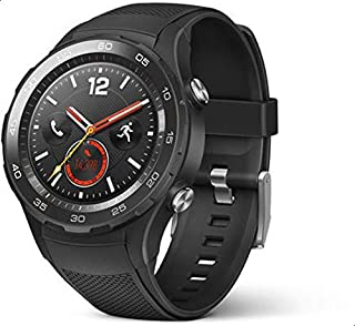 Huawei Watch 2 Sport 4G Version smart Watch, Silicone Band - Black