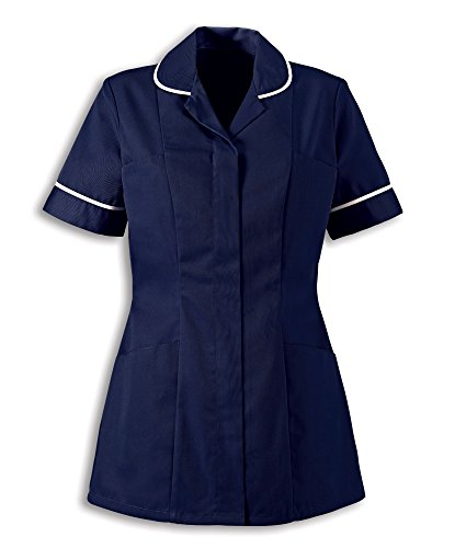 Alexandra | Womens | Healthcare Tunic | Ideal for Nurses, Care Home and Private Health Care Workers | Sailor Navy | HP298NA-84