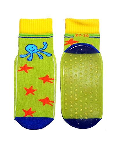 Weri Spezials Kinder Strandsocke mit durchgehendem ABS! in gelb, gruen, kornblau Gr.27-30 (5-6 Jahre)