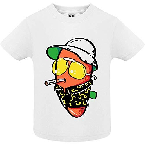 LookMyKase T-Shirt - The Guy - Bébé Garçon - Blanc - 6mois