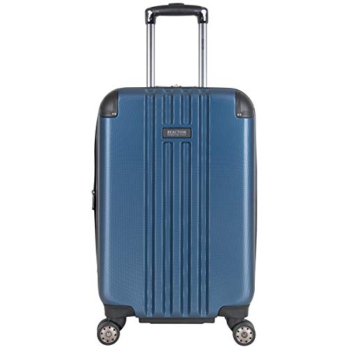 Kenneth Cole Reaction Reverb 20' Lightweight Hardside Expandable 8-Wheel Spinner Carry-On Suitcase, Ice Blue