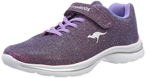 KangaROOS Unisex-Erwachsene Kangashine EV II Sneaker, Rot (Purple 6120), 41 EU