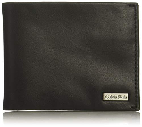 Calvin Klein Men's BIFOLD W/ID WINDOW, black, NO SIZE