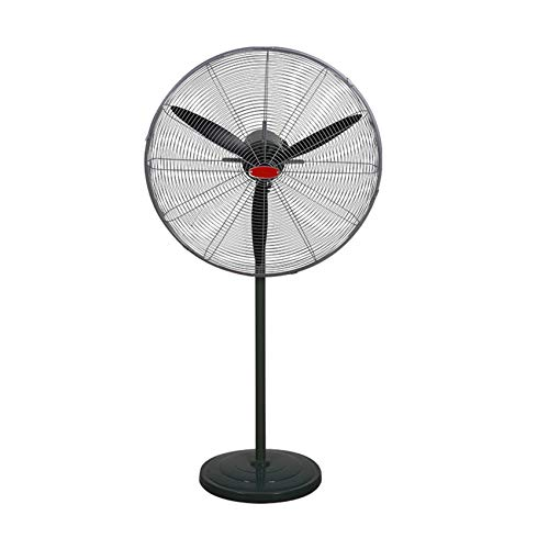 ZCZZ Ventilador Eléctrico Industrial, Rotación Potente De Alta Potencia, Ventilador De Suelo con Cabezal Vibrante Silencioso