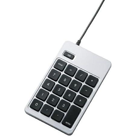 【2011年モデル】ELECOM テンキーボード USB接続 for Apple アイソレーション ブラック TK-AP-TCM001BK
