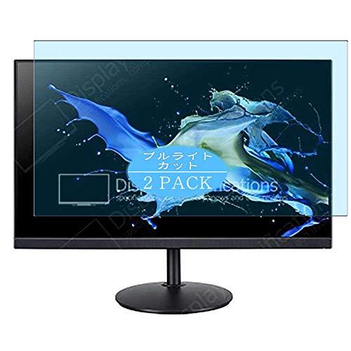 Vaxson Pack de 2 protectores de pantalla antirreflejos azules compatibles con CB242Y Dbmiprcx CB242YDbmiprcx de 23,8 pulgadas, protector de pantalla de poliuretano termoplástico (TPU), color azul