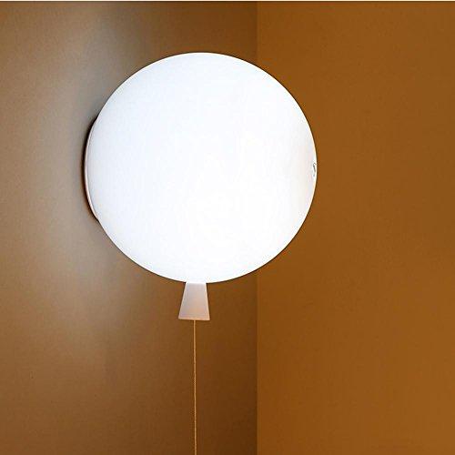 Couleur Ballon Plafonnier,LED Plafond Eclairage,Lampe de chambre à coucher, Couloir Cuisine Lumières de salle à manger Ø35cm E27 Max 40W, lampe murale-Blanches