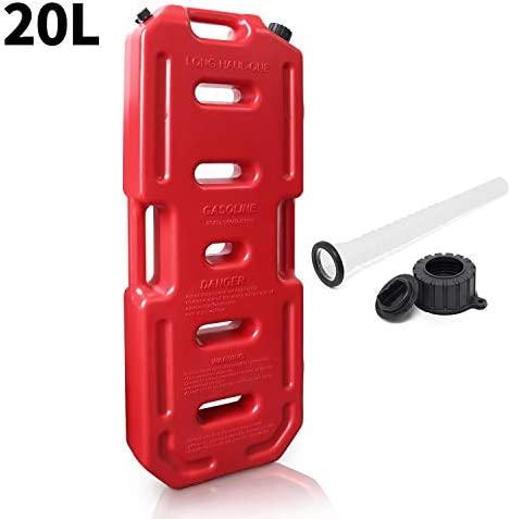 Reliancer 5 28 Gallons Gas Cans 20L Portable Spare Fluid Transfer Tank Gas Storage Container product image