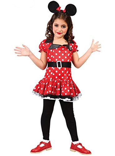 Guirca Minnie Costume Minnie 10/12 Ans, Couleur, 81201
