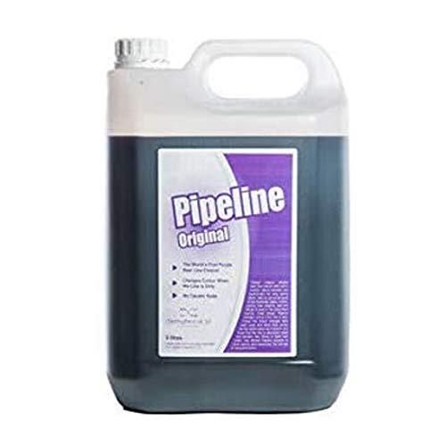 We Can Source It Ltd - 2 x 5 Ltr Pipeline Birra Linea Pulitore Viola Indicatore Ristorante Pub BAR Clean