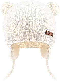 Baby Beanie Winter Hat Toddler Skull Cap Bear Earflaps Girls Boys Travel