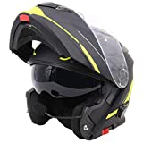 casco moto modular con bluetooth