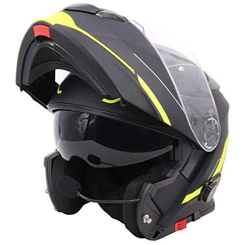 Casco de moto con bluetooth