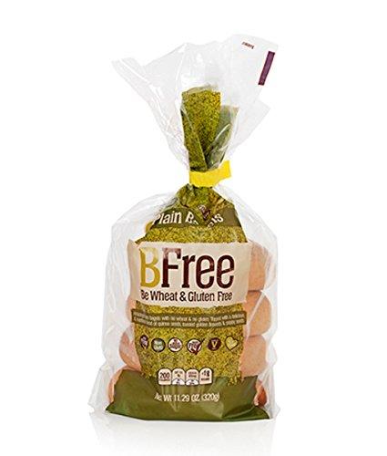 Bfree Gluten Free Plain Bagels, Vegan, Egg Free, Soy Free, Nut Free, Dairy Free, Kosher 11.29 Oz (Pack Of 3)