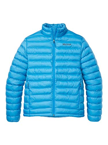Marmot Herren Ultra-leichte Isolierte Winterjacke, Warme Outdoorjacke, Wasserabweisend, Winddicht Solus Featherless Jacket, Clear Blue, L, 74770